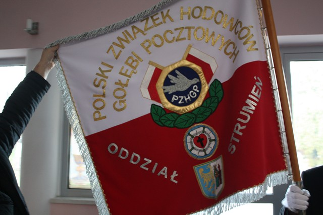 Poświęcenie Sztandaru Oddziału Strumień